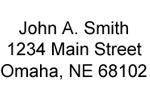 Standard Return Address