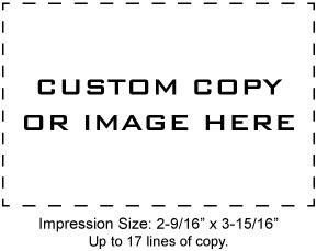 XSN28 - N28 Xstamper Pre-Inked Stamp